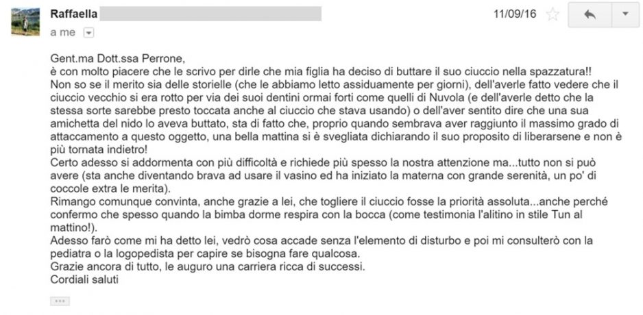 email recensione
